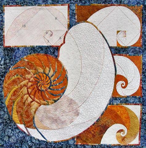 Golden Spiral by Deb Plestid