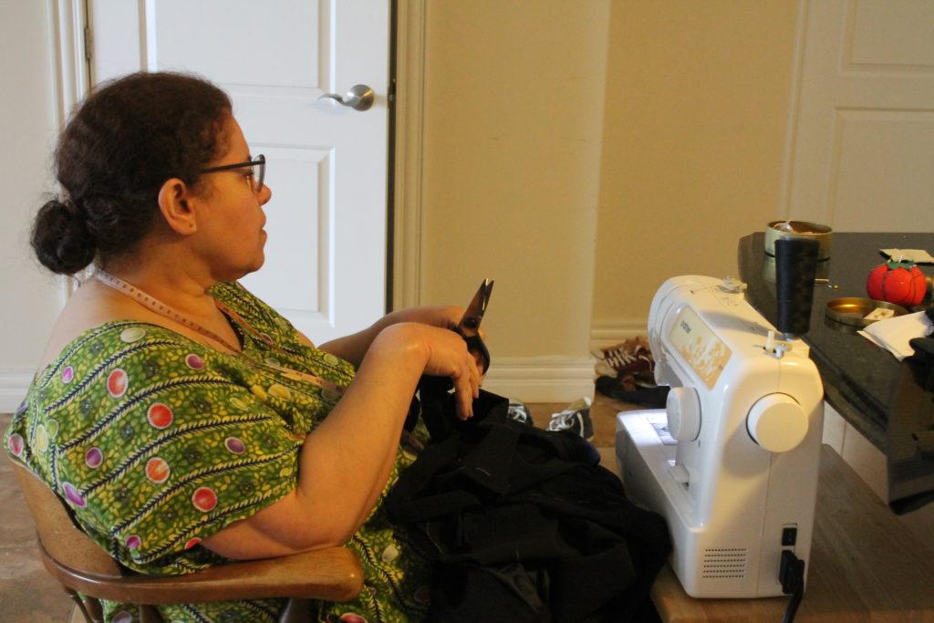 mum-sewing