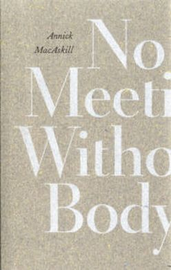 Book cover for No Meeting Without Body