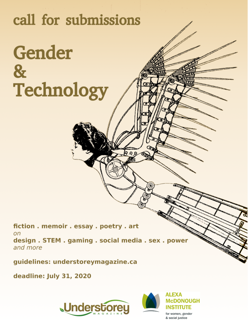 poster Issue 18 with illustration of Victorian woman in constructed dress and wings